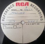MOLIMO - RCA demo acetate 1971