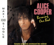 ALICE COOPER  - Burning Our Bed