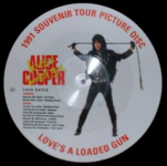"Love's A Loaded Gun 12"" picture disc"