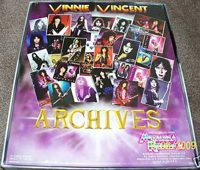 VINNIE VINCENT : Archives (originally planned for a 1998 release)