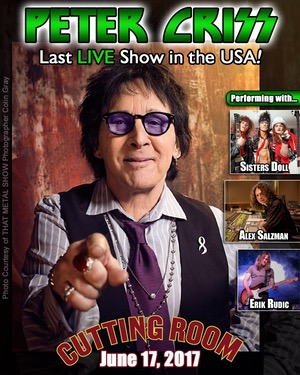 PETER CRISS - NYC 2017 final show