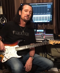 BRUCE KULICK in the studio for VELVET INSANE