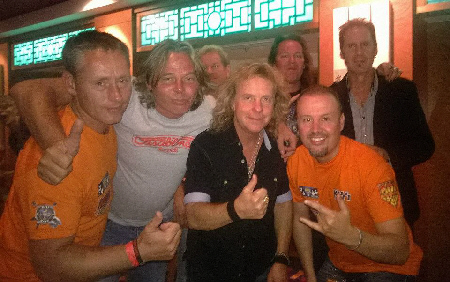 with some members of NIGHT RANGER