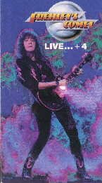 BUY > FREHLEY'S COMET : Live + 4  VHS